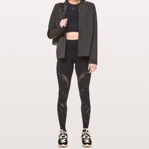LULULEMON Reveal 7/8 Tight Black Leggings Pants